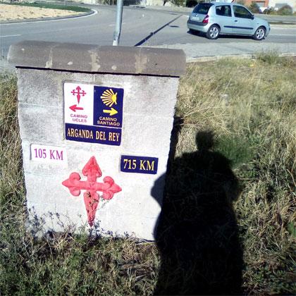 camino santiaguista Arganda del Rey Uclés